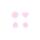 Prym Color Snaps in Herzform, Rosa B18, 30 Stk.