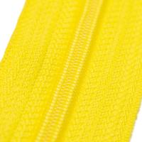 4mm Reissverschluss, gelb