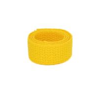 weiches Baumwollgurtband 2,54cm (1 inch), gelb