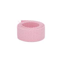 weiches Baumwollgurtband 2,54cm (1 inch), rosa