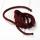Polyester Rundkordel 4mm Bordeaux