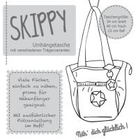 SKIPPY Tasche Farbenmix Schnittmuster