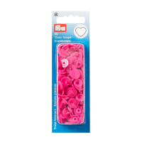Prym Color Snaps in Herzform, Pink B47, 30 Stk.