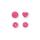 Prym Color Snaps in Herzform, Pink B47, 30 Stk.