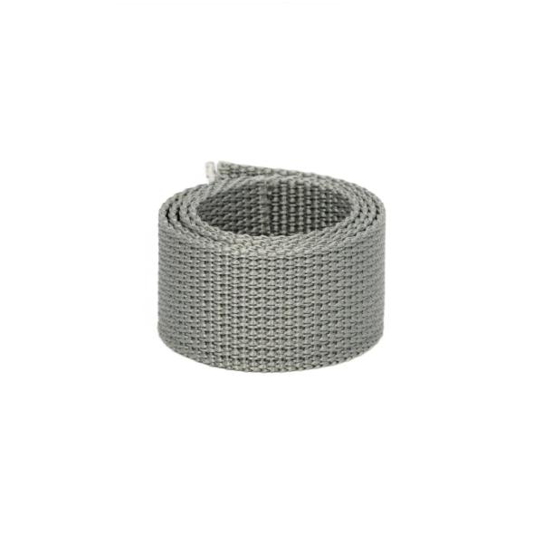 Poly Gurtband 30mm Hellgrau