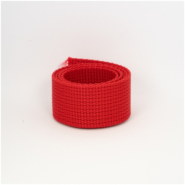 Poly Gurtband 30mm Rot