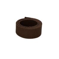 Poly Gurtband 30mm Dunkelbraun