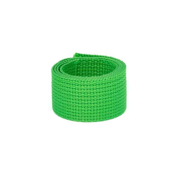Poly Gurtband 30mm Hellgrün