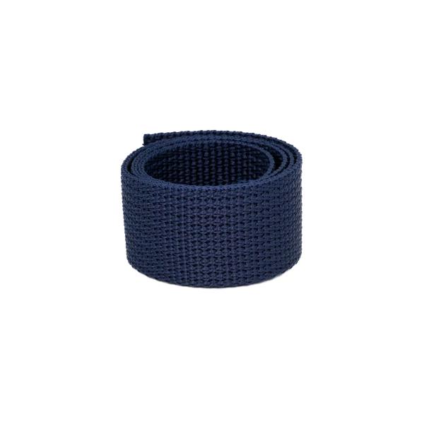 Poly Gurtband 30mm Marineblau