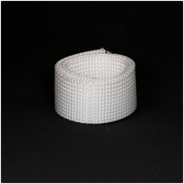 Poly Gurtband 30mm Weiss