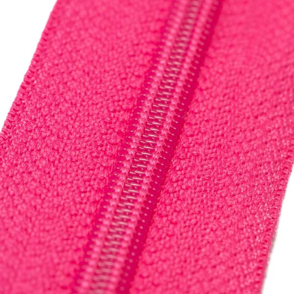 4mm Reissverschluss, pink