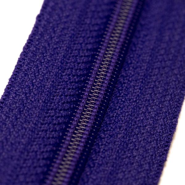 4mm Reissverschluss, violett