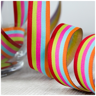 Farbenmix Webband Stripes Sweets