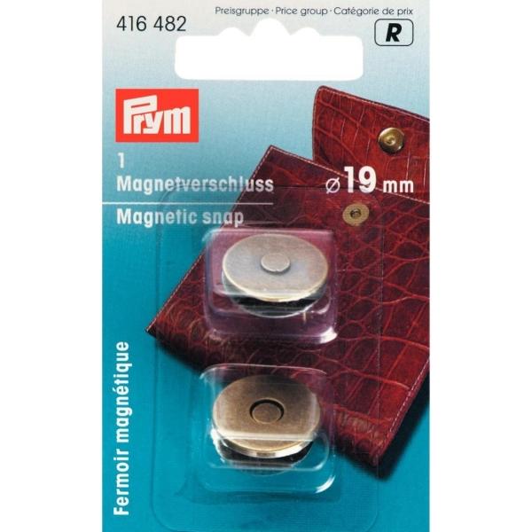 Prym Magnetverschluss, 19mm, altmessing