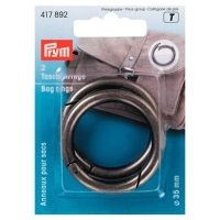 Prym Taschenringe, altsilber, 35mm