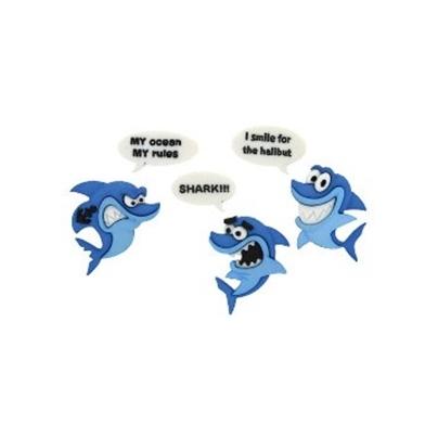 "Knöpfe ""Shark!"""