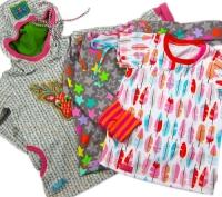 ROSE Kindershirt Farbenmix Schnittmuster
